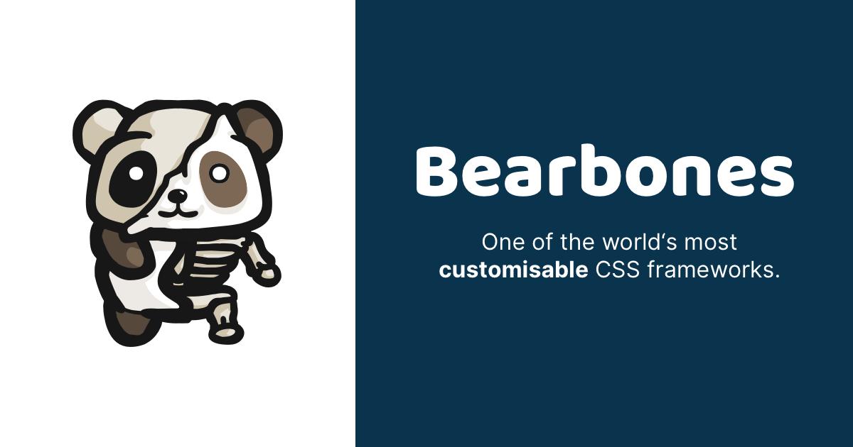 Bearbones banner